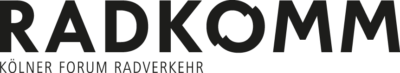 Logo des Radkomm e.V. , Kölner Forum Radverkehr