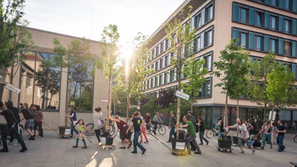 Wanderbaumallee München